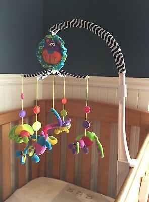 Playgroup Wind Up Musical Mobile For Baby - Attach To Cot