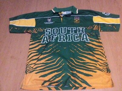 South Africa cricket shirt 2003 World Cup size large