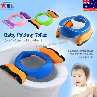 Children Potty Comfortable Portable Toilet Ring Baby Travel Potty Folding Chair