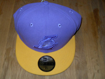 New Era 5950 Poptonal L.A Lakers fitted cap Mens Size 7 1/4