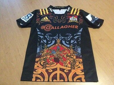rugby chiefs jersey size large