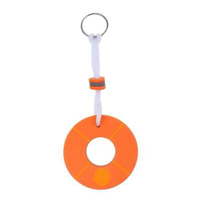 Boating Floating key chain Marine keychain Shoreline Sailing Buoy Orange