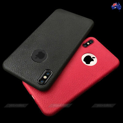 SANDI Print Leather TPU Shockproof Ultra Thin Case Cover for Apple iPhone XS X 8
