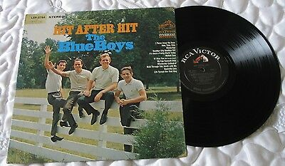 THE BLUE BOYS [Jim Reeves Band] 'Hit after Hit' Great 70's Record