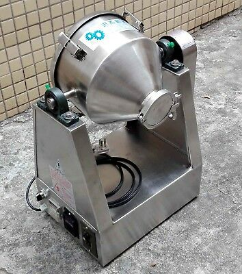 Small Stainless Steel Powder Mixer Dry Powder Blender Mixing Machine 110V