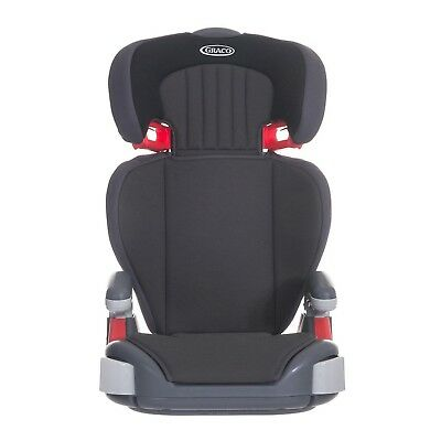 Graco Junior Maxi Lightweight Highback Booster Car Seat Group 2/3 Midnight Black