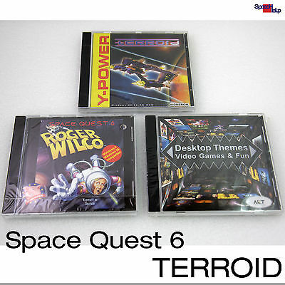 Dos Windows 95 98 Games Games Space Quest 6 Roger Wilco Terroid Themes Desktop