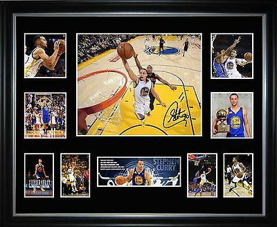 Steven Curry Limited Edition Framed Memorabilia