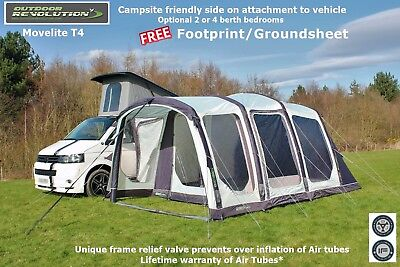 Outdoor Revolution Movelite T4 Lowline - Ideal VW T4,T5,T6 Bongo, Vito etc
