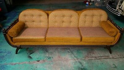 Vintage mid century couch sofa