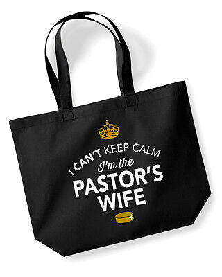 Pastor's Wife Gift Idea Wedding Hen Party Bridal Bag Handbag Present Keepsake