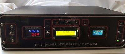 Hf Linear Amplififier 1200W Wide Band Solid State Ldmos Blf 578 Very Good !!