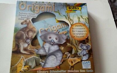 Folia australian animals origami set new & sealed.