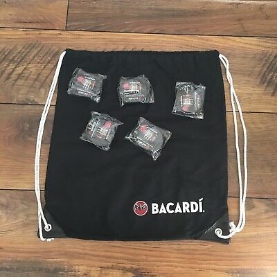 Bacardi Rum Turnbeutel Hipster Gymbag Stoff Sportbeutel Tasche