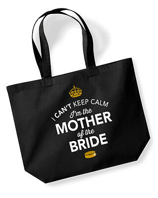 Mother Of The Bride Idea Wedding Hen Party Bridal Bag Handbag Present Keepsake