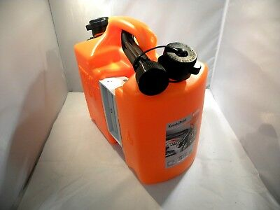 STIHL COMBINATION COMBI CAN FUEL /& OIL CANISTER ORANGE