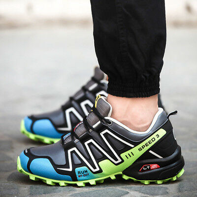 Men Salomon Outdoor Hiking Shoes Travel Sneake Athletic Running Sports Sneakers