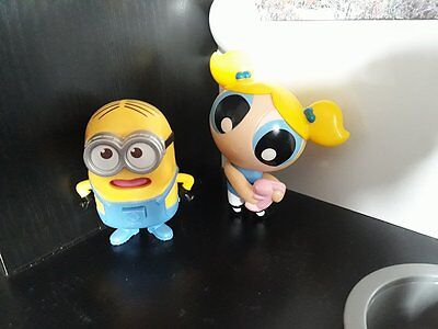 McDonald's Minions Superchicche Power Puff Happy Meal Dolly