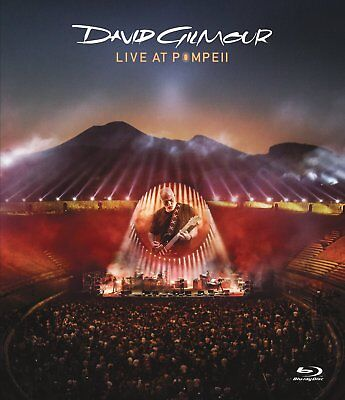 David Gilmour Live at Pompeii Limited Deluxe Box Set 2 CD + 2 Bluray Pink Floyd