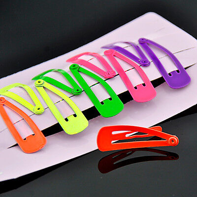 10PCS Lovely mixed color Hair Clip Barrettes FS23-2