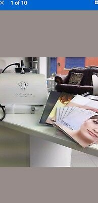 New Model Crystal Clear Mobile Mini Microdermabrasion Machine.
