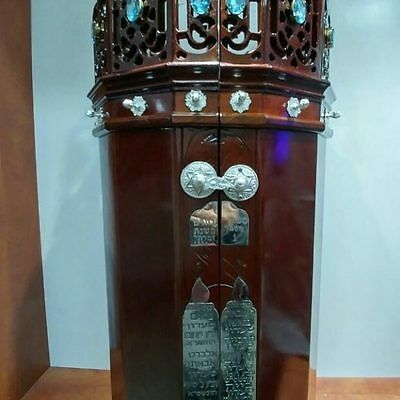 New Tunisian Sefer Torah case with double opening