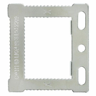Square Sawtooth Hangers CWH1 Canvas & Hollow Back Picture Frames + Screws
