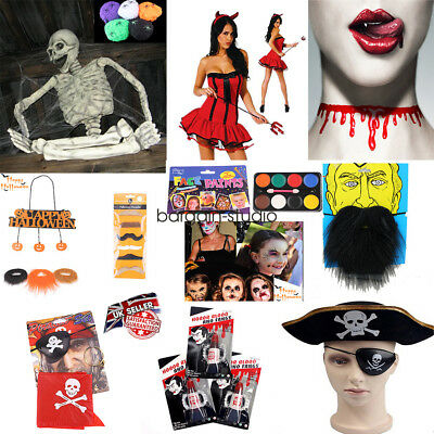 Halloween ALL Costume Fancy Dress Accessories Party Decorations Scary Decoration