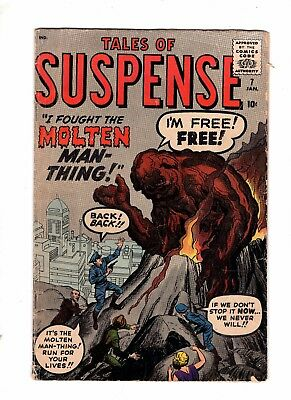 Tales of Suspense 7 VG+ 4.5 Jack Kirby Steve Ditko Classic Cover