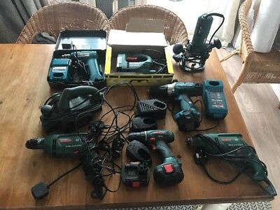 Job Lot Of Power Tools All Untested As Acquired