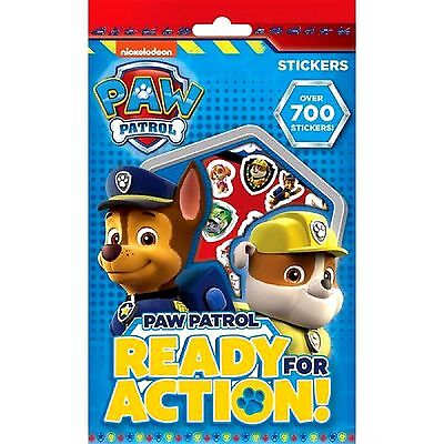 Paw Patrol Stickers Over 700 Stickers - TV Character - WH3 - R3C 667 - NEW