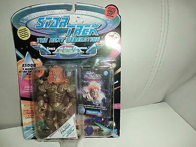 STAR TREK  ESoqq Figur The Next Generation Playmates  NEU+ OVP RARITÄT