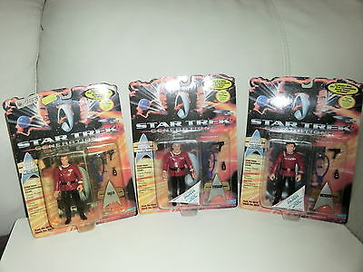 STAR TREK  Kirk, Scotty und Chekov Generations Playmates  12 cm NEU+ OVP
