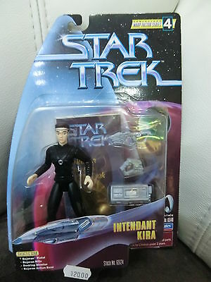 STAR TREK  Intendant Kira DS9 Deep Space Nine Playmates 12 cm NEU+ OVP RARITÄT