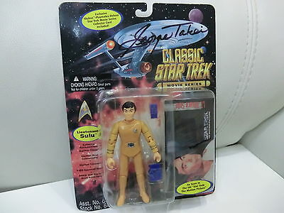 STAR TREK Sulu Movie Figur NEU+ OVP Playmates von George Takei handsigniert
