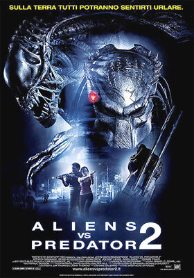 35mm ALIEN VS PREDATOR 2 FILM/MOVIE/PELLICOLA/FLAT/TRAILER/TEASER/BANDE