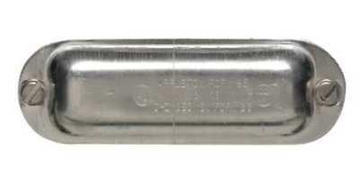 APPLETON ELECTRIC K200-A Cover, 2In, Aluminum, Form 85