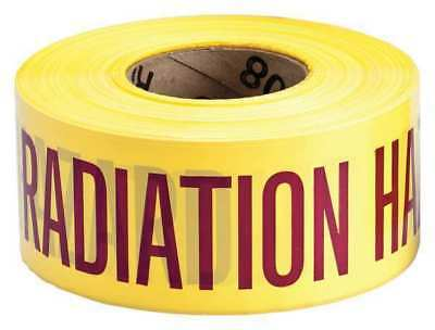 BRADY 91464 Barricade Tape, Polyethylene, 1000 ft.