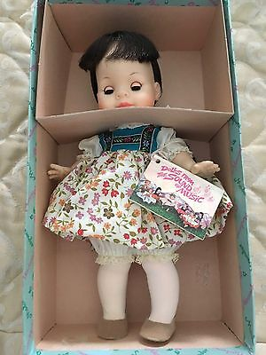 """Madame Alexander Vintage 1960""""s Marta 10"""" from The Sound of Music MIB"""