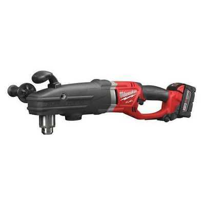 M18 Fuel Cordless Right Angle Drill Kit, 14.8 lb. MILWAUKEE 2709-22HD