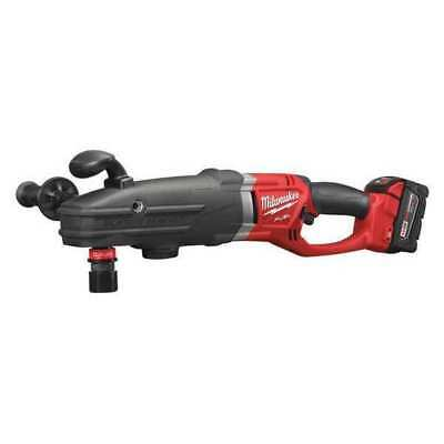 M18 Fuel Cordless Right Angle Drill Kit, 14.4 lb. MILWAUKEE 2711-22HD