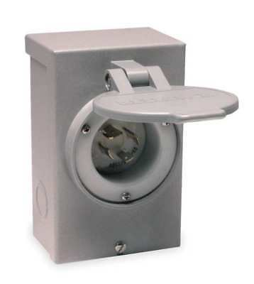 RELIANCE PB30 Outdoor Power Inlet Box, 30 Amps