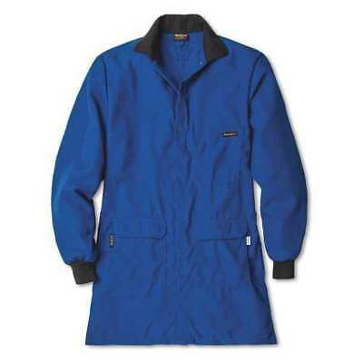 WORKRITE FR 353CH45RB Lab Coat,Blue,XL,38 in. L G4606379