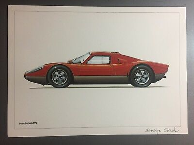 1963 Porsche 904 Carrera GTS Coupe Print, Picture, Poster RARE!! Awesome L@@K