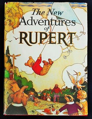 Superb 1936 Rupert Bear Limited Edition Facsimilie Annual With Dust Cover