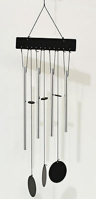 Garden Wind Chime with Chrome Effect Chimes