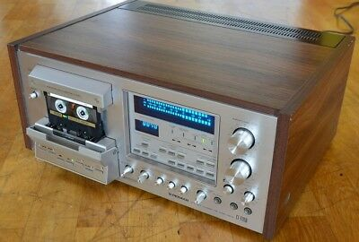 Pioneer CT-F1250  - 3 Kopf Tapedeck - 3 Head - Spec Series - Woodcase CT F 1250