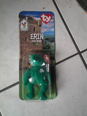 "Mc Donalds/Ty Collect Serie ""Erin  the Bear ""in Blisterpackung"
