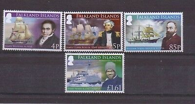 2008 International Polar Year Set Of 4 (1088-1091) Mnh Cv £12.00