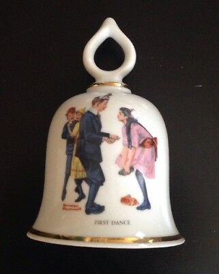 The Wonderful World Of Norman Rockwell- First Dance- The Danbury Mint
